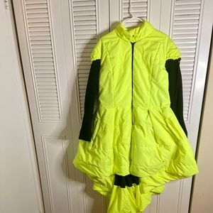 Jackets & Blazers - Hi Lo highlighter coat